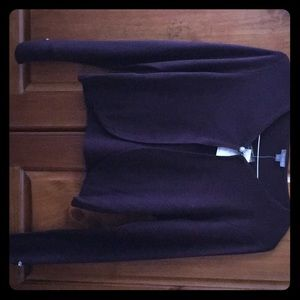 Women's Purple Cardigan